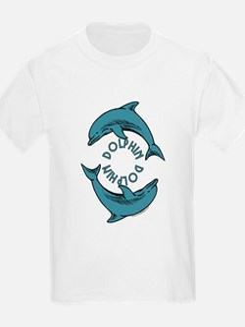 Dolphin T-Shirt, Kids: Dolphin Circle