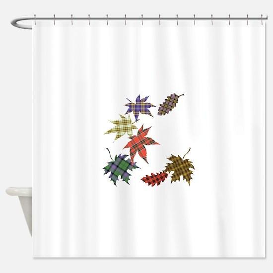 Cute Tartan Shower Curtain