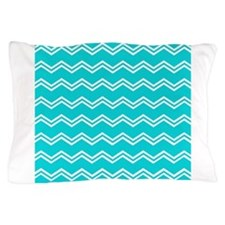 Tiffany Blue Aqua Beach Coastal Summer Double Chev