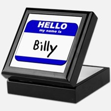 hello my name is billy Keepsake Box