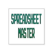 Spreadsheet Master Sticker