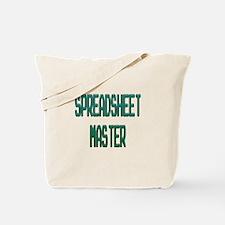Spreadsheet Master Tote Bag