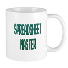 Spreadsheet Master Mugs