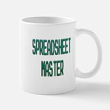 Spreadsheet Master Mugs