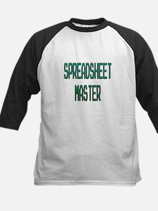 Spreadsheet Master Baseball Jersey