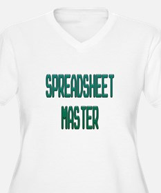 Spreadsheet Master Plus Size T-Shirt