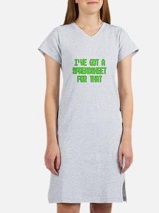 Spreadsheet Women's Nightshirt