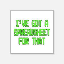 Spreadsheet Sticker