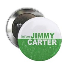 """Re-Elect Jimmy Carter 2.25"""" Button"""