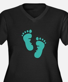 Baby feet Plus Size T-Shirt