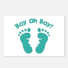 Boy Oh Boy! Postcards (Package of 8)
