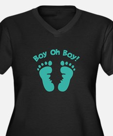 Boy Oh Boy! Plus Size T-Shirt