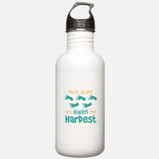 First Steps Are Always The Hardest Water Bottle