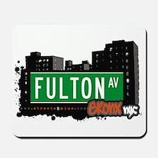 Fulton Av, Bronx, NYC Mousepad