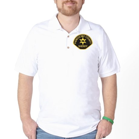 Mendocino County Sheriff Golf Shirt