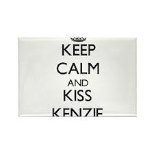Keep Calm and kiss Kenzie Magnets