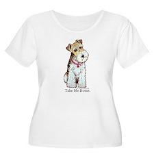 Homeless Fox Terrier T-Shirt