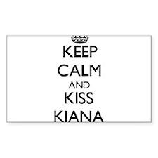 Keep Calm and kiss Kiana Decal