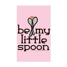 Be My Little Spoon Decal