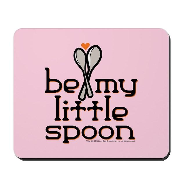 Be my little spoon mousepad by orangeisthenewblack for Little spoon cafe