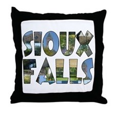 SF 2 Throw Pillow