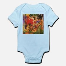 Franz Marc: Deer in the Forest Body Suit