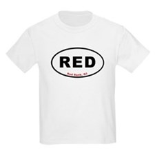 Red Bank T-shirts Euro Oval T-Shirt