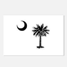 South Carolina Palmetto Postcards (Package of 8)