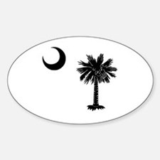 South Carolina Palmetto Oval Decal