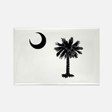 South Carolina Palmetto Rectangle Magnet