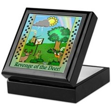 """Revenge of the Deer"" Keepsake Box"
