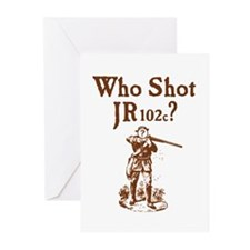 Who Shot JR102c Greeting Cards (Pk of 10)
