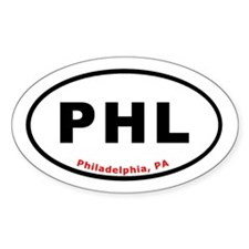 Philadephia Oval T-shirts Oval Decal