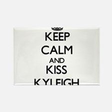 Keep Calm and kiss Kyleigh Magnets