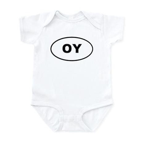 OY Euro Oval T-shirts Infant Bodysuit