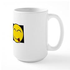 Censored smiley Mug