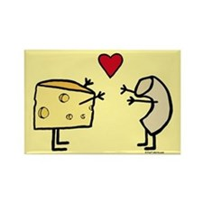 Macaroni And Cheese Love Magnets