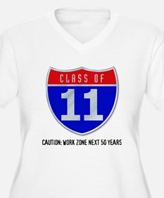 Class of 11 Road Sign T-Shirt