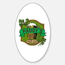 Paddy's Irish Pub Sticker (Oval)