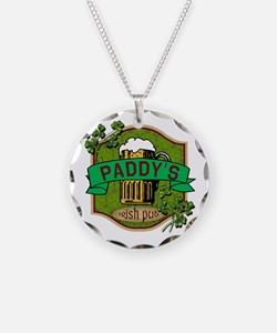 Paddy's Irish Pub Necklace