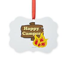 Happy Camper Ornament