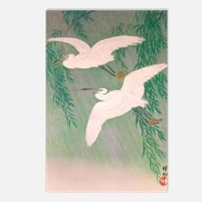 Flying White Birds Postcards (Package of 8)
