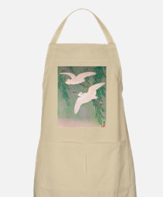 Flying White Birds Apron