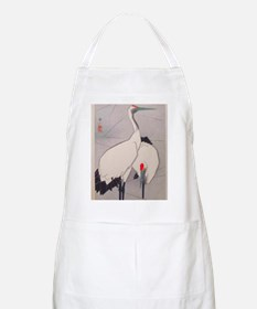 Big Birds Japanese Vintage Art Apron