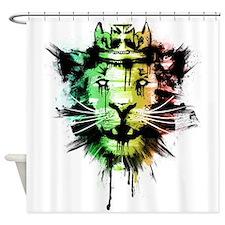 Buffalo Gong Shower Curtain