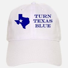 Turn Texas Blue Stkr Baseball Baseball Cap
