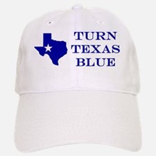 Turn Texas Blue Baseball Baseball Cap