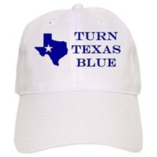 Turn Texas Blue Baseball Cap