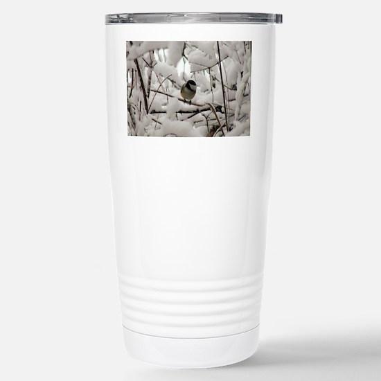 Chickadee Haven Stainless Steel Travel Mug