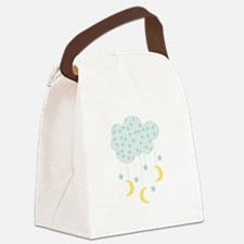 Hanging Moon Stars Canvas Lunch Bag